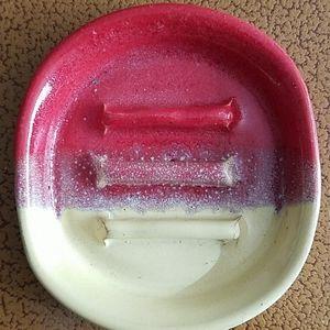 Very Colorful Handmade Soap Dish
